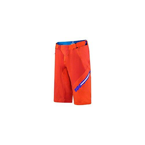 Inconnu Airmatic Blaze pantalón Corto para Hombre, Hombre, Color Naranja, tamaño FR : 30 (Taille Fabricant : 30)