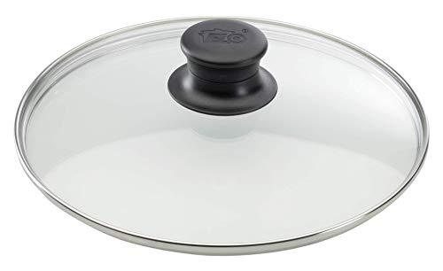 feuerfestes glas zum kochen ELO 64129 Glasdeckel / 28 cm / Glas / Edelstahl