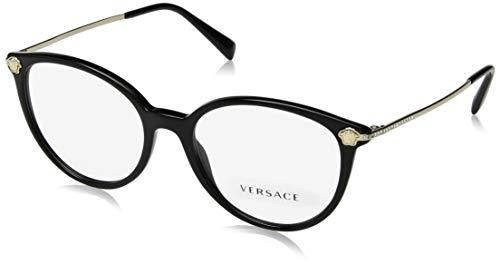 Brillen Versace MEDUSA STRASS VE 3251B BLACK Damenbrillen