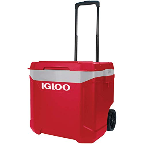 iGloo Coolers Europe Latitude 60 Nevera portátil sobre Ruedas Rojo Adulto Unisex, 57 L