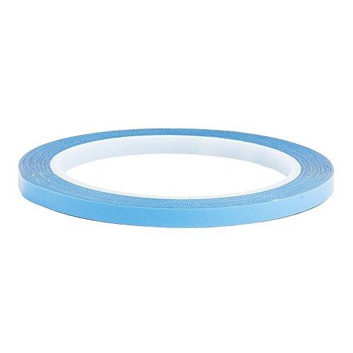 Ruban adhésif double face « Power Tape » transparent et ultra adhésif - 10 m 6 mm transparent
