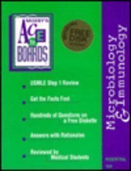 Mosby's USMLE Step 1 Reviews: Microbiology and Immunology (Ace the Boards Series; Book & 3.5