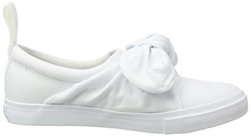Cheap Monday Trip Knot Sneaker, Sneakers basses mixte adulte Blanc (Blanc)
