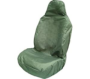1x Front Seat Cover Heavy duty PVC free polyester with a waterproof membrane & elasticated base Safety, Workshop & Welding