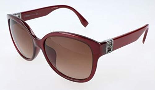 Fendi Damen FF 0069/F/S MKG/D8-57-17-135 Sonnenbrille, Rot, 57