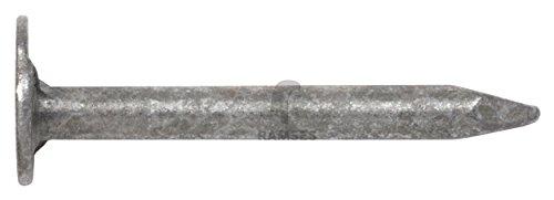 EisenRon DS-tec - Dachpappstifte DIN 1160 2,8 x 16 mm Stahl feuerverzinkt 100 Stück