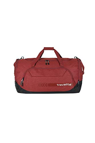 """Travelite Reise- und Sporttaschen \""""KICK OFF\"""" von travelite in 3 Farben: praktisch, robust und auch zum Ziehen Reisetasche, 70 cm, 120 L, Rot"""