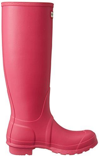 Hunter Original Tall, Bottes de Pluie Femme, Vert Pink (Bright Cerise)