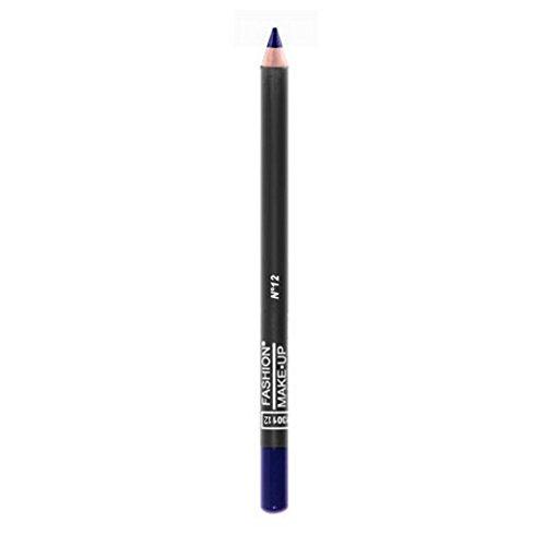 FASHION MAKE UP - Maquillage Yeux - Crayon Bois - N° 12 Bleu roi