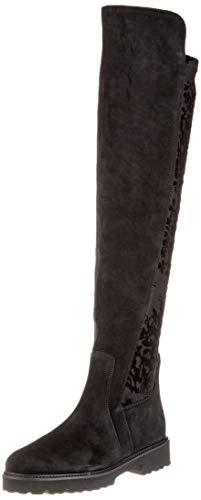 Gabor Shoes Fashion, Stivali sopra Il Ginocchio Donna, Nero (Schwarz (Micro) 37), 37.5 EU