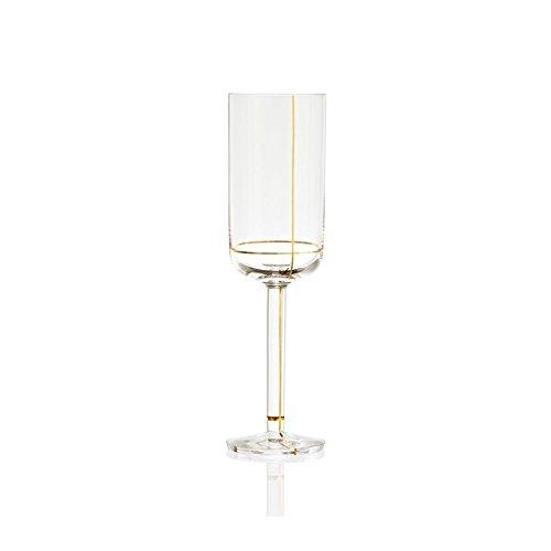 Hay–Colour Glass Flute Set 2Gläser Champagner–Packung 2Stück