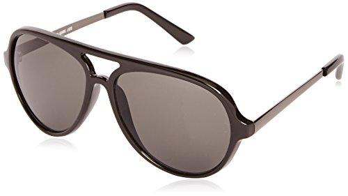 Sunoptic Unisex Sonnenbrille, Gr. One size, Schwarz Shiny Black