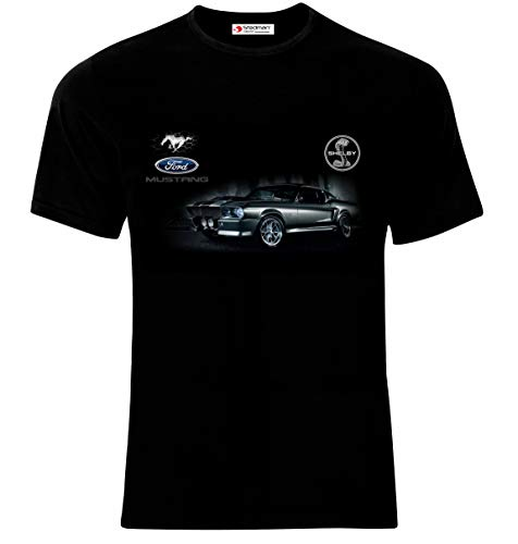 7a9e6b279e7068 Ford Mustang Shelby Eleanor GT 500 from 1967 Logo Auto Sport Cars Man Homme  Printed T