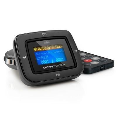 Foto de Energy Sistem CAR MP3 1100 - Reproductor de MP3 para coche (FM-T, lector tarjetas SD, USB-HOST, Line-in), Dark Iron