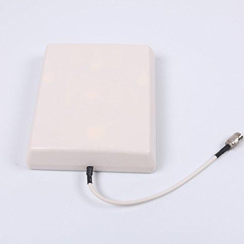 Proutone GSM 2G 3G 4G LTE 900MHz 18000MHz 2100MHz Antena de Panel omnidireccional interior conector N hembra para el Repetidor Amplificador de señal de teléfono celular amplificador