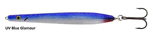 Westin Solvpilen Meerforellenblinker, Mefo-Köder, Küstenblinker, Meerforellenköder, Gewicht:20g;Farbe:UV Blue Glamour
