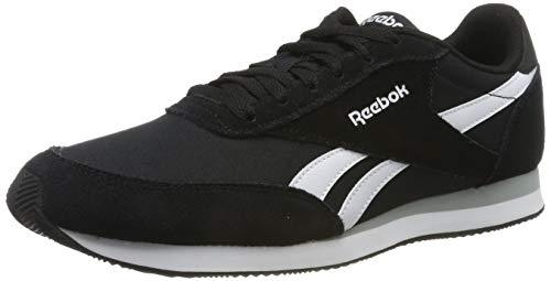 Reebok Royal Cl Jogger 2, Zapatillas de Running para Hombre, Negro (BlackWhiteBaseball Grey 0), 47 EU