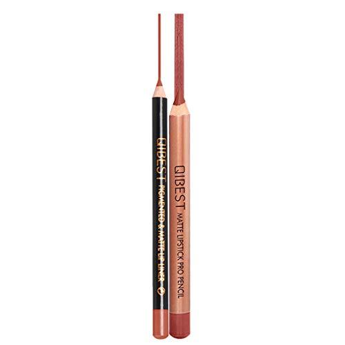 Lippenstift Matte Langlebigen Lipgloss Lipstick Wasserdicht Mattglanz Lip Liner Kosmetik Lipliner Set Sleek Sticks Collection