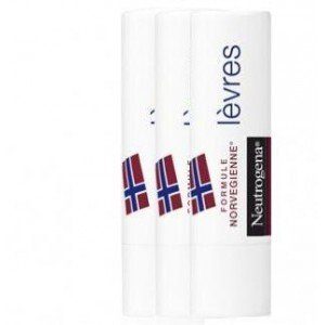 Neutrogena Stick Lèvres Lot de 2 + 1