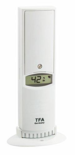 TFA Dostmann Weatherhub Thermo-Hygro-Sender, 30.3312.02, SmartHome, hohe Genauigkeit