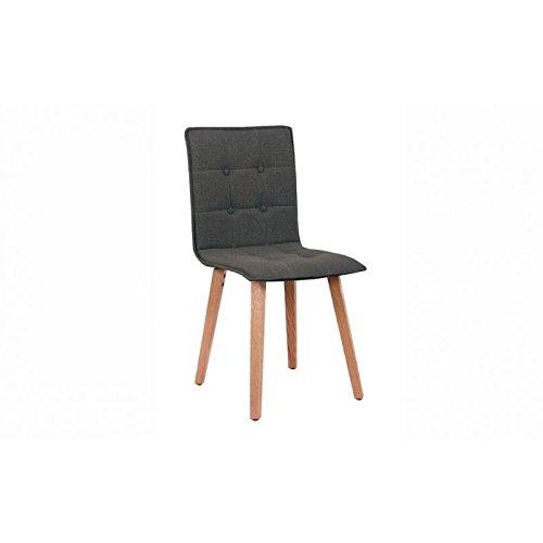 designement Chaise de Repas Tissu, 53 x 44 x H.88 cm.