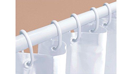 Kleine Wolke 3313100921 Zubehör Dusch-Set, Set 3-teilig 125-220 cm, weiß