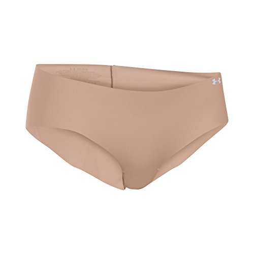 Under Armour Damen Sportswear Pure Stretch Hipster Unterhose, Nude, XS