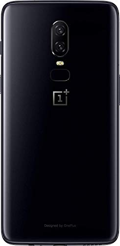 OnePlus 6 (Mirror Black, 6GB RAM, 64GB Storage)