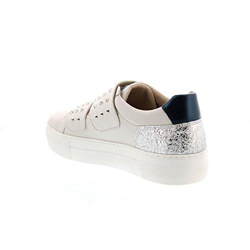 Donna Carolina Sneaker, Dream Calce + Perla Notte 33.168.189-001 Weiß/Silber/Blau