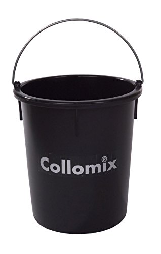 Collomix 60,173 - Recipiente para mortero polietileno alta calidad negro