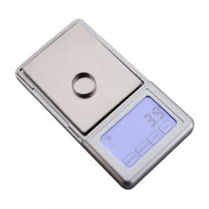 "500g/0.1g 2.2"" Touching Screen Digital Pocket Jewelry/Gold Scale ML-A04 Black g/ozt/dwt/ct/oz/gn"