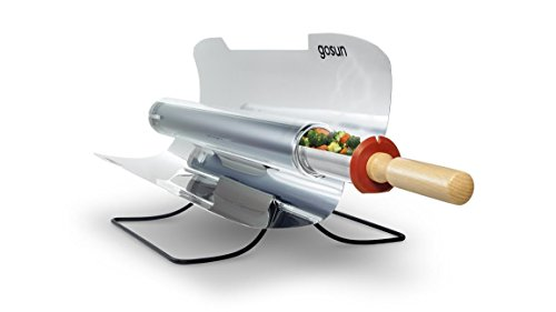 GoSun Sport, Tragbarer Solarkocher, fur 1,4L Food, kochen auf die Sonne, ideal fur Camping oder hiking, silber -