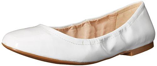 Nine West Girlsnite Ballet sintetico piatto White