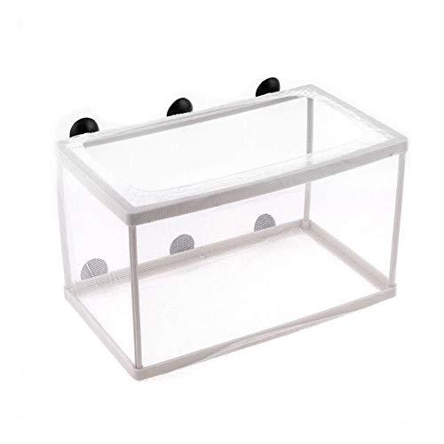 Trifycore Aquarium Fischzüchter Box-Isolierbox Züchter Incubator Incubator Trennung von Pure White, Fisch und Wasserzubehör (Züchter-box)