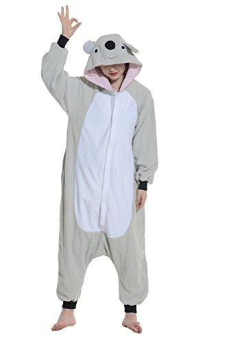 Pyjamas-Koala-Adulte-Femme-Cosplay-Hiver-Kigurumi-Unisexe-Dguis-Halloween-Fte-Outfit-Nuit-Vtements