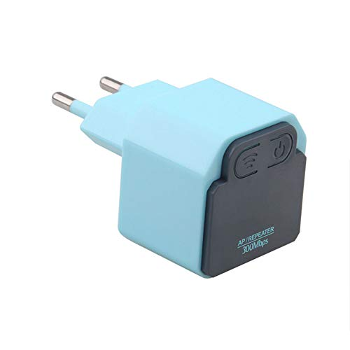 WWAVC Mini WiFi Range Extender 300 Mbps Wireless WiFi Repeater 2,4 Ghz WLAN-Repeater Ap, Integrierte Antenne, Eu-Stecker