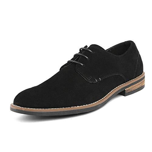 Bruno Marc URBAN-08 Zapatos de Cordones Vestir Oxfords para Hombre Negro 46 EU/12 US