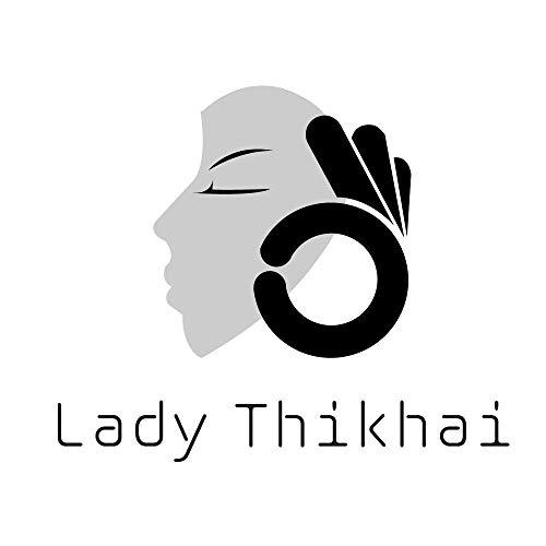 Lady Thikhai Womens Camisole Built-in Shelf Padded Bra Cami Bra Straps Long Sleeve T-Shirt LT004PKXL(Pink, XL)