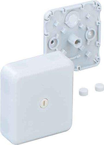 Abzweig-Kasten Aufputz 7 leer/ 315-607 (5 Stück Abzweig-Kasten) Tiefe Riegel