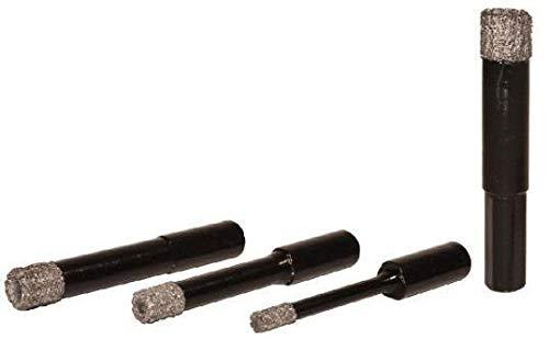 Diamantbohrkrone Wasser verwendbar sowohl auf Bohrmaschinen Tragbare Die Feste für Bohren Feinsteinzeug, Keramik, monocottura, Granit, Marmor.
