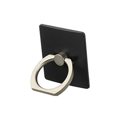 DEPARQ Universal 360°Rotating Finger Ring Stand Holder Black Mount For iPhone, iPad Mini, Samsung,HTC, Lenovo,LG, Micromax,Xiaomi Redmi,Asus,Sony Xperia ,all Mobile Phones and Tablets  available at amazon for Rs.159