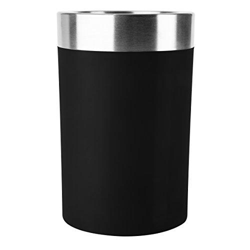 Emsa 507602 Flaschenkühler, Soft-Touch, Integriertes Kühlgel, 6 St. Kalt, Gefriergeeignet,...