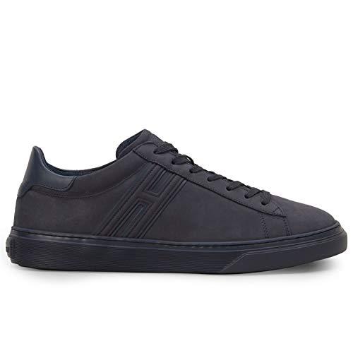 Hogan - Sneakers H365 Blu in Nabuck - HXM3650J310LJA01GG - 8.5