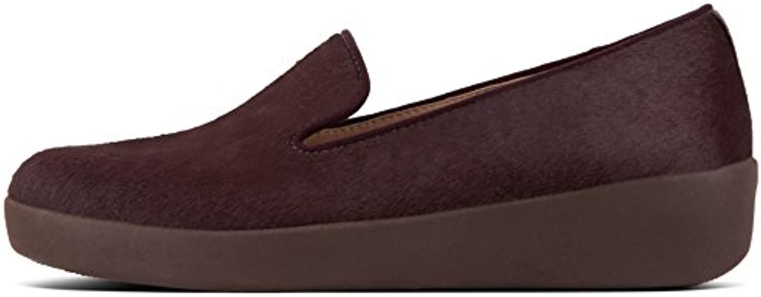 FitFlop FemmeB07JJF4NL6Parent Audrey Faux-Pony Smoking Slippers, Chaussons FemmeB07JJF4NL6Parent FitFlop 374498