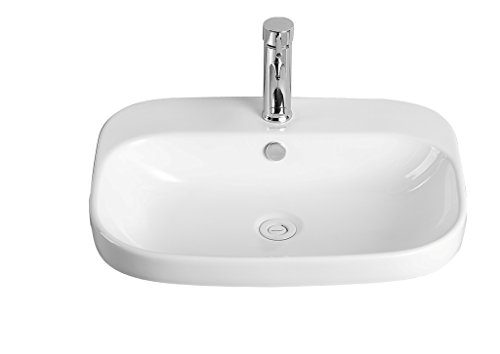 Sestones Nicolina Counter Basin (Size 600X450X160 Mm )