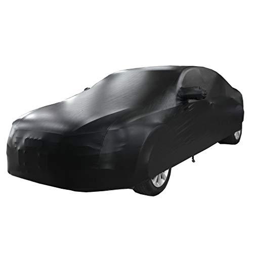 XXchin Full Car Cover Hyundai elastische Passform mit PU wasserdicht Sommer und Winter Car Cover UV Schutz Autokleidung zu passen Hyundai (größe : Santa fe 5 Seats) - Räder Fe Santa