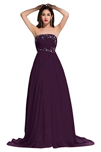 Sunvary - Abito da sposa - Donna Grape