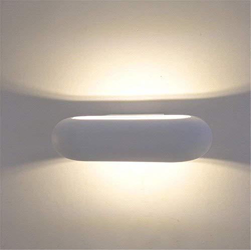 Bulkhead-licht (CWJ Wandleuchte -Wohnzimmer Schlafzimmer Warm Study Corridor Wandleuchten Indoor LED Licht auf und ab die Bulkhead Lampe Haushalt Wandleuchten Silber und Licht W Hotel Villa Zimmer Gang Tür Dekoratio)