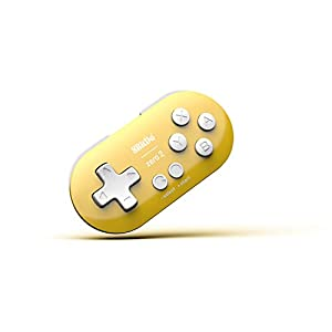 8Bitdo Zero 2 Bluetooth Gamepad For Switchpcmacosandroid (Yellow Edition) [