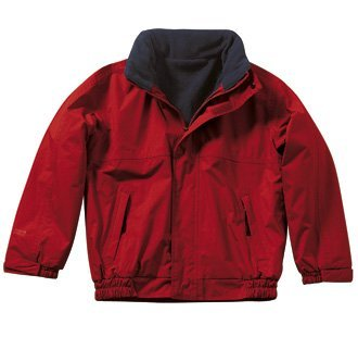 Regatta TRW418 7Y6C03 Kids Dover Jacket - Classic Red/Navy